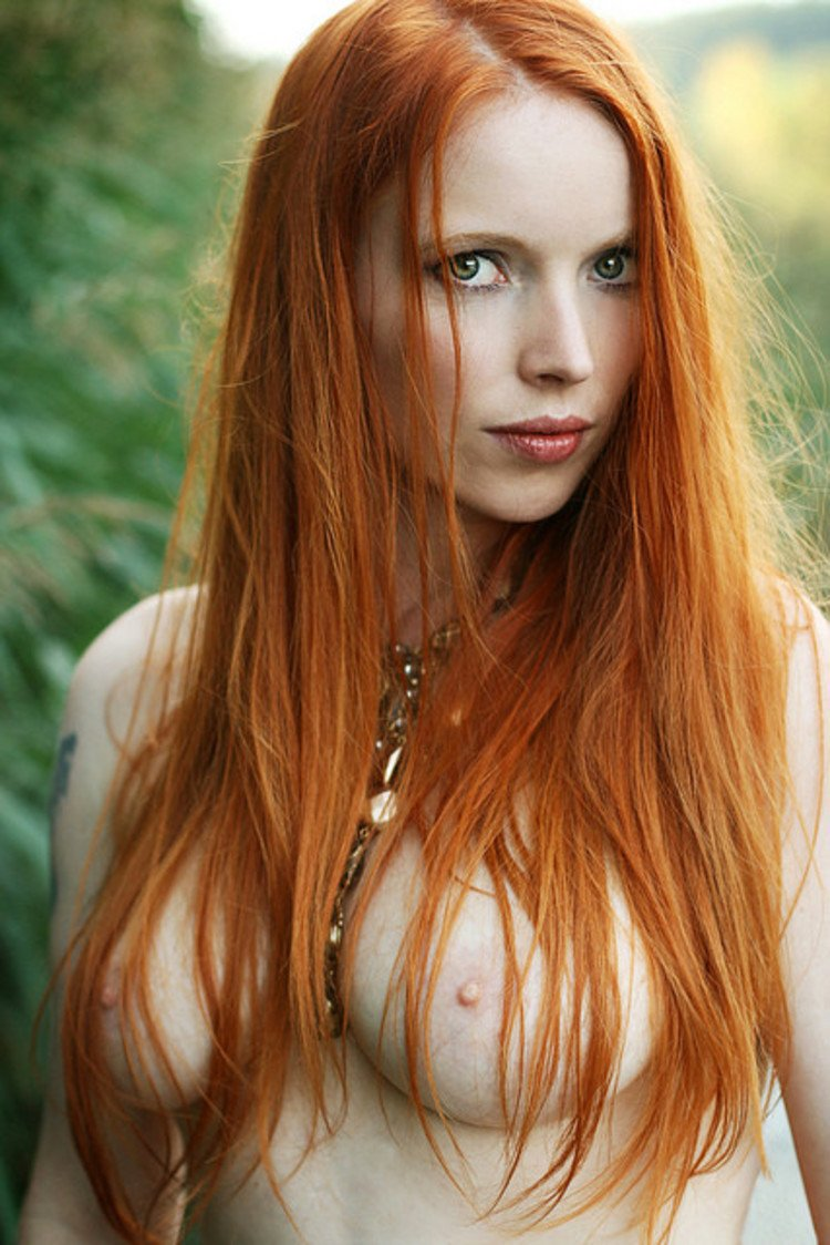 Rather redhead freckles green eyes your