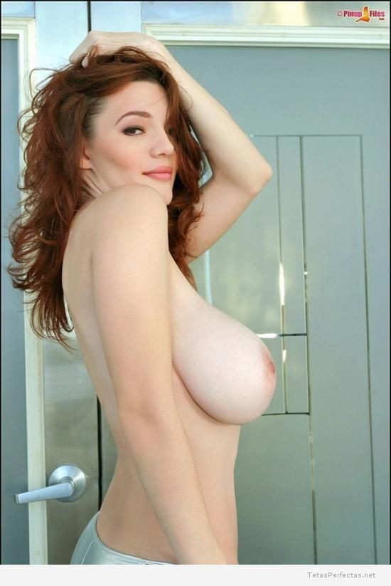 red and hot Tits